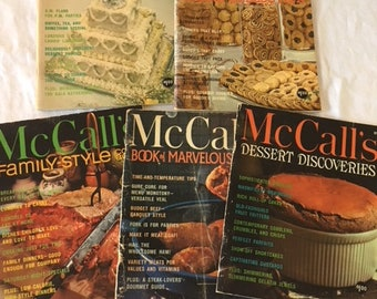 Illustrated recipes etsy vintage mccalls soft cover illustrated recipe books cookies parties desserts and more forumfinder Gallery