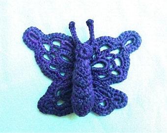 Olivia Butterfly Motif Crochet Pattern PDF