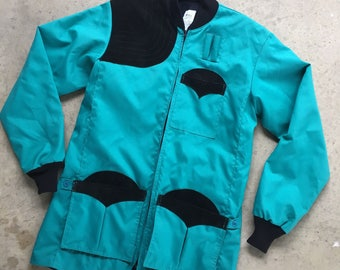 M&L teal jacket