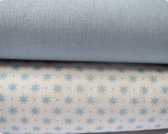 Fabric Gutermann french Cottage collection blue stars