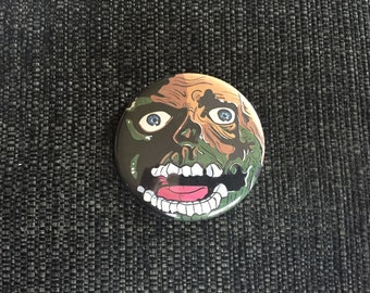 Tarman Return of the Living Dead Pinback Button 2-1/4 Inch