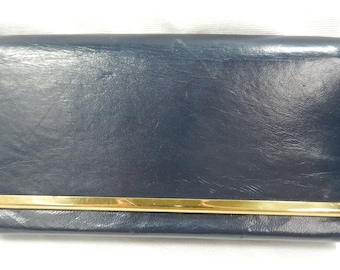 1940's - 1950's Britemode Navy Leather Cluth