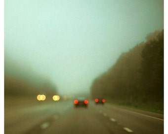 Landscape Photograph - Road Trip Print - Travel Photography - Green Art - Car Art - Ohio 5 - Large Art - Oversized - Gift For Travelers