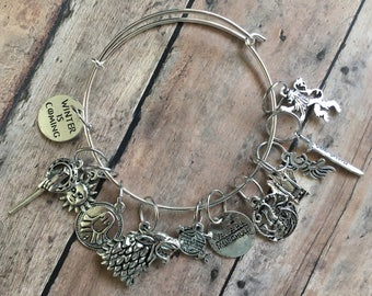 Stitch Marker Bracelet - Game of Thrones
