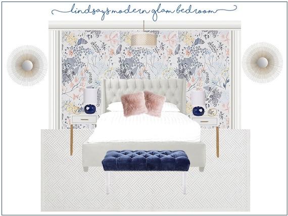 Master Bedroom Interior Design L Virtual Interior Design L