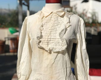 Ivory Costume Blouse (Imperfect)