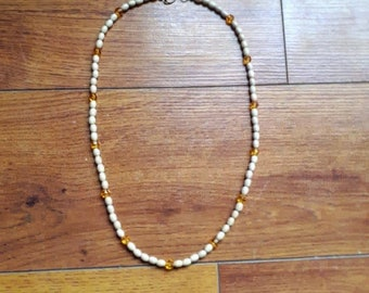 Beaded Ladies Necklace/ Necklaces for Woman/ Necklaces with Beads/ Handmade Beaded Necklace/ Handmade Jewelry