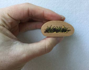 Grass Stamp - Woodland Stamp - Kodomo no Kao