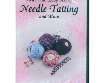 160694 - Learn The Easy Art of Needle Tatting - DVD