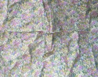Gorgeous Monets garden top quality cotton rectangle tablecloth
