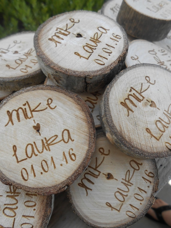 25 PERSONALIZED Initials Wood Rounds. Laser Cut, Rustic Wedding Vase Filler, Confetti. Monogram, Letter