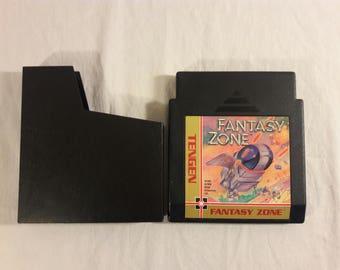 Original Tengen Fantasy Zone Game Cartridge & Sleeve