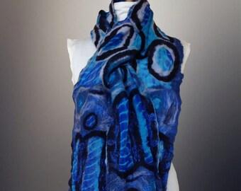 Nuno Felt Scarf/shawl/wrap