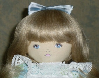 Pauline Doll named Alice 19 Inches  Cloth 1984 Dolls by Pauline