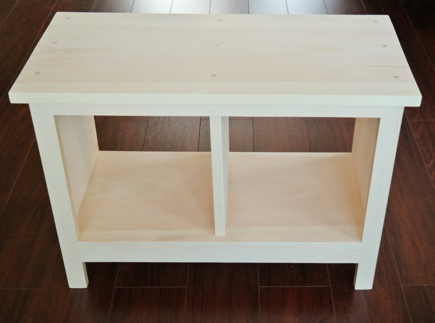 unfinished storage free with today bench solid garden three compartments home product shipping overstock parawood