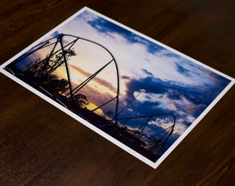 Fury 325 at Dusk - Limited Edition 12x18 Print