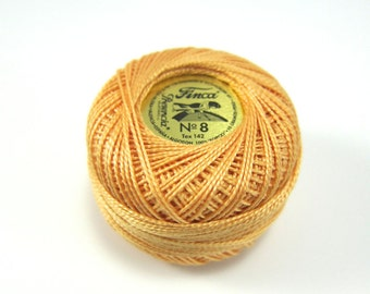 Autumn Gold Finca Perle Cotton Thread Pearl Cotton
