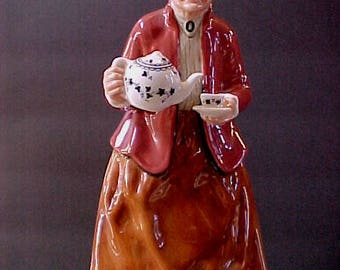 """Royal Doulton Teatime  HN2339  6-1/4"""" tall  Mint condition, no chips, scratches, repairs or crazing"""