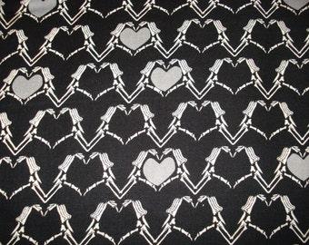 Last Piece - CLEARANCE Zombie Love Fabric: Riley Blake. See below.