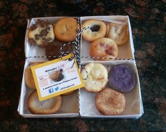 Bibingka Bibites Box (12 flavors of bibingka) Gluten-Free - Special Valentine Packaging Available