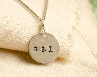 """CARVED IN SILVER Couples set  18"""". Personalized Necklace . Couples Necklace . silver pendant necklace . personalized necklace . Set"""