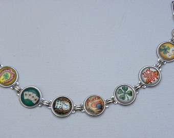 Whimsical Casino Button Bracelet TREASURY LIST