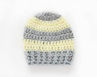 Boys Hat / Boys Winter Hat / Crochet Boys Hat / Newborn Boy Hat / Baby Shower Gift Boy / Boys Beanie / Hats For Boys / Baby Boy Hat