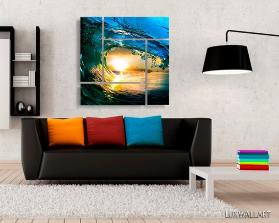 Beautiful Ocean Wave Wall Art