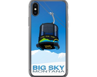 Big Sky Ski Resort iPhone Case