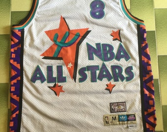 Vintage 1995 adidas NBA All Stars Charles Barkley jersey size M