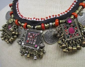 Antique Kuchi Pendant Necklace