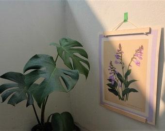 Magnetic Wooden A4 Print Hanger