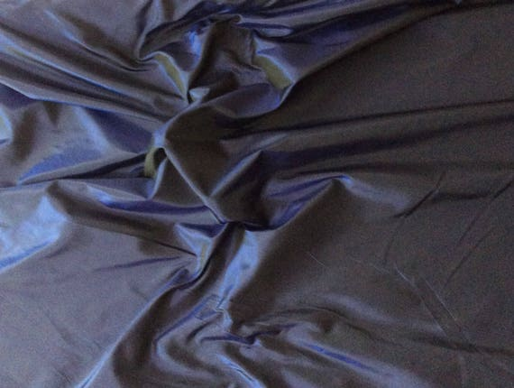 High quality silk fabric, navy