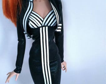 16 inch fashion doll dress and Jacket