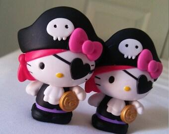 Hello Kitty Cabochon, Hello Kitty Figurine, Cute Destash