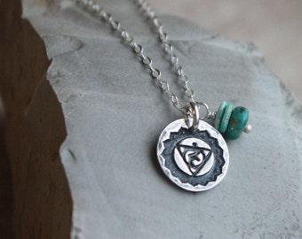 5th Chakra Necklace- Throat Chakra Necklace