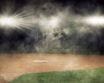 Sports Digital Background with Dust Layer