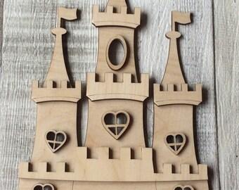 3d fairy princess castle