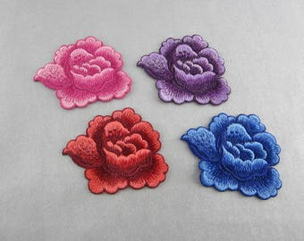 Embroidery Flower Appliques