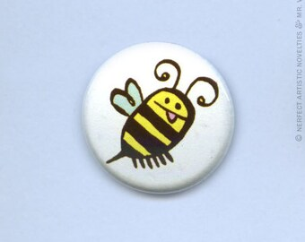 """Dumblebee 1"""" Pin-Back Button"""