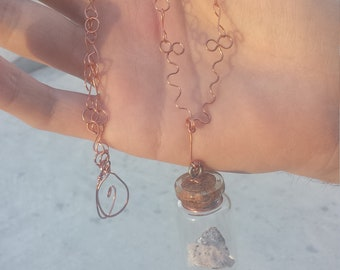 Nature in a Jar Necklace
