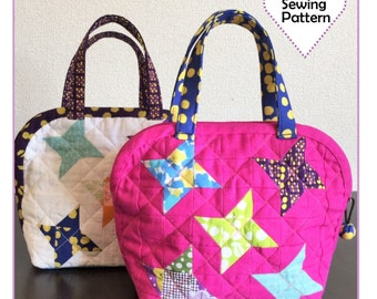 PDF Stella Dome Pouch - Zakka Sewing Pattern - Instant Download