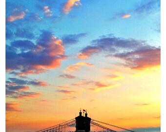 Roebling Bridge Sunset