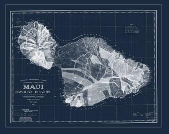 MAUI Map, Hawaiian Map, Maui Map, Hawaii, Kauai, Oahu, Molokai, Hawaii
