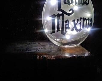 Harry Potter Inspired Lumos Maxima Spellbook Lamp