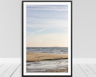 Utopia Print, Beach Utopia Photograph, Island Escape, Beach Art, Beach Print, Sunset Print, Printable Beach Art, Beach Home Decor