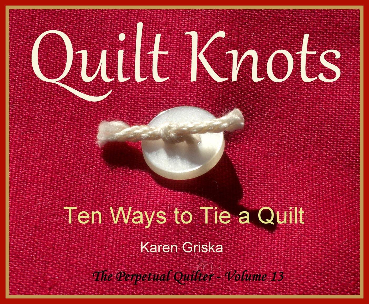 Quilt Knots Quilt Pattern Ten Ways to Tie a Quilt How to : tie knot quilt - Adamdwight.com