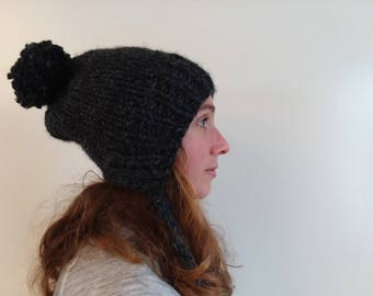 Kose Slouchy Ear Flap Hat