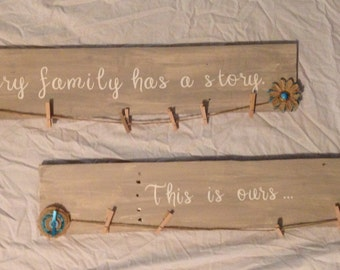 Family Story, This is ours... Picture Holder