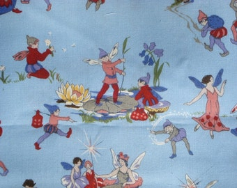 Queen of the Fairies Faye Burgos Marcus Bros Textiles Fabric FQ or more
